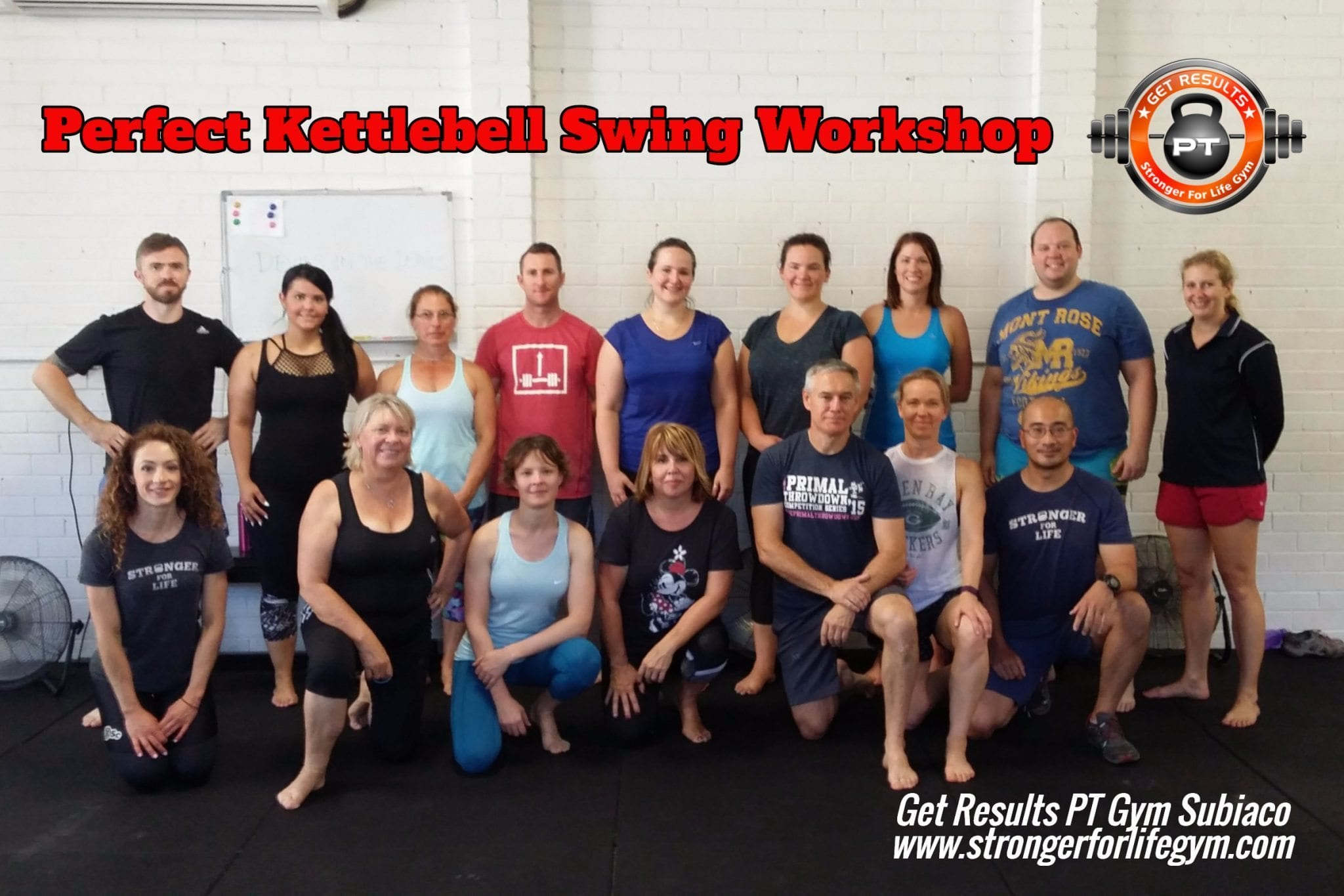 perth kettlebell swing workshop