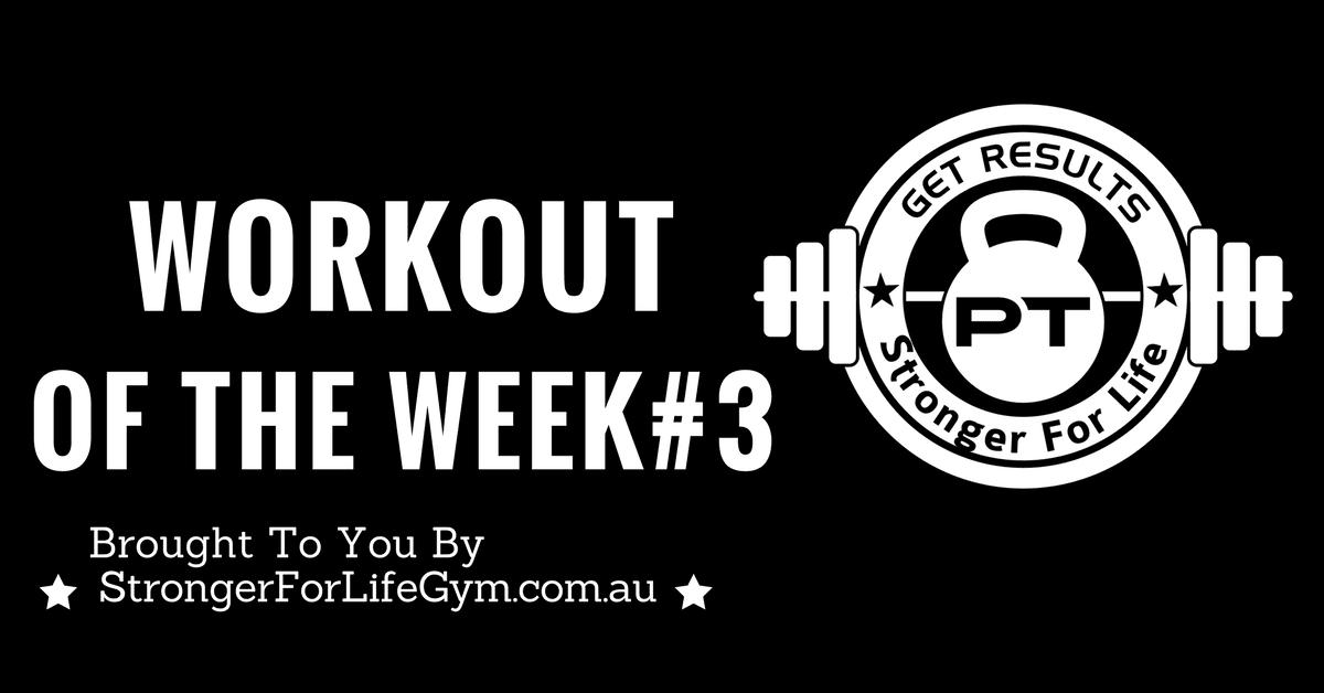 Workout of the Week #3: Kettlebell Swings Friends Workout