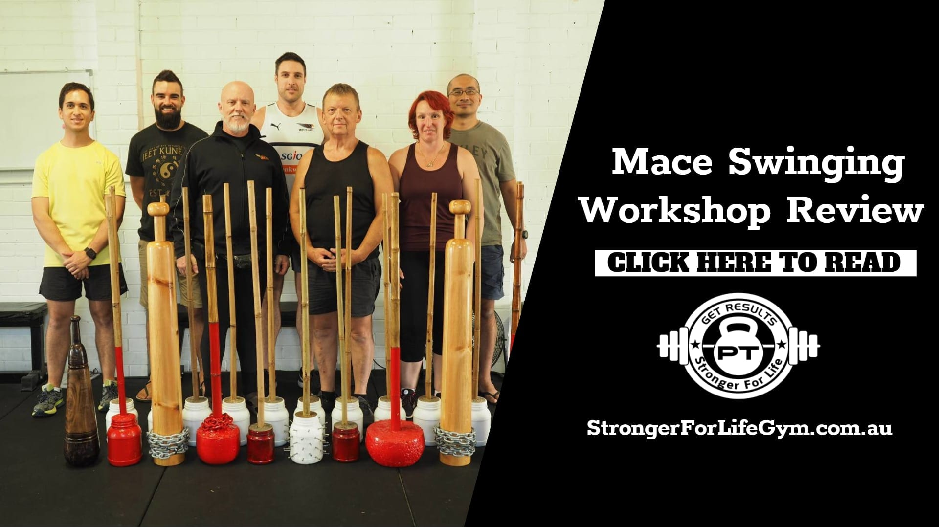 Mace Workshop Taught by Paul Wolkowinski Review