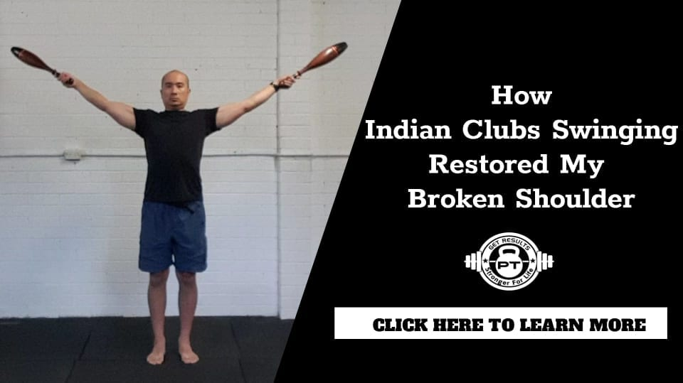Indian club swinging
